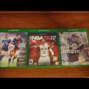 xbox 1 games Sports
